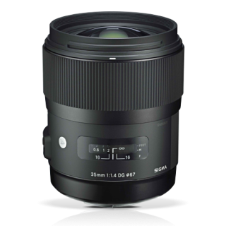 Sigma 35mm F1.4 A series HSM for EOS
