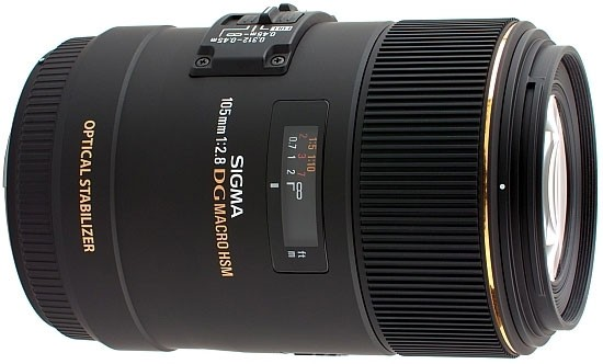 Sigma EX DG 105mm f/2.8 OS HSM Macro Lens - for Canon EF Mount