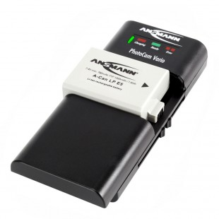 Ansmann PhotoCam Vario Universal Battery Charger
