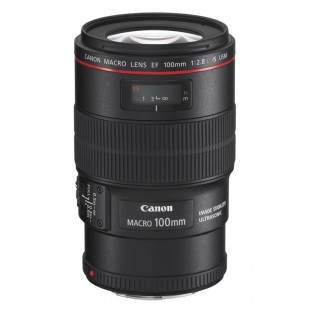 Canon EF Macro 100mm f/2.8L IS USM Lens