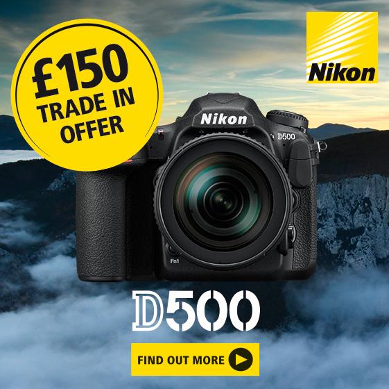 Nikon D500 Trade in bonus
