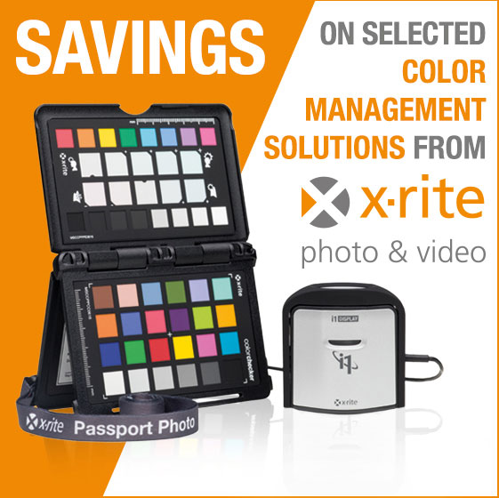 X Rite Promotion