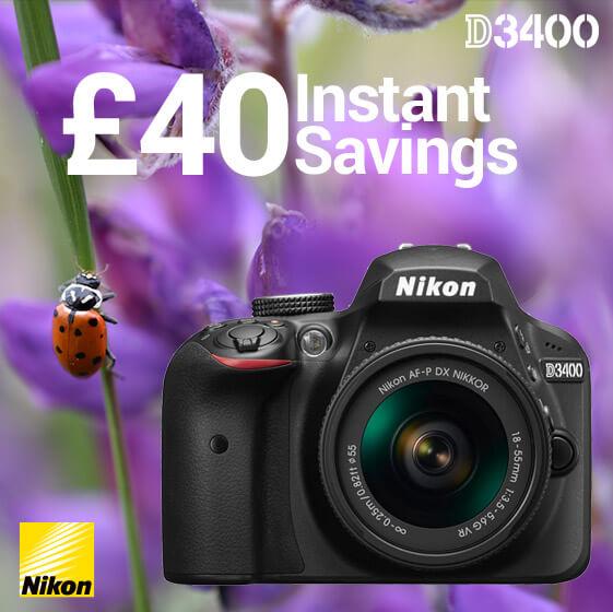 Nikon D3400 savings