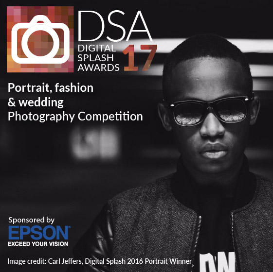 Digital Splash Awards. Portrait competition