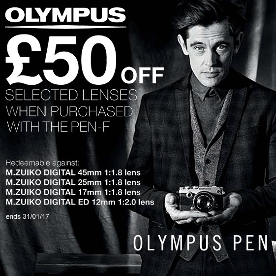 PEN-F lens discount