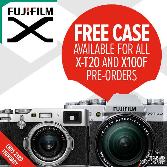 Fuji Pre-order offer
