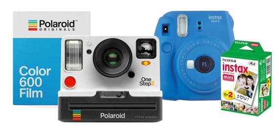 Instant Cameras & Instant Film