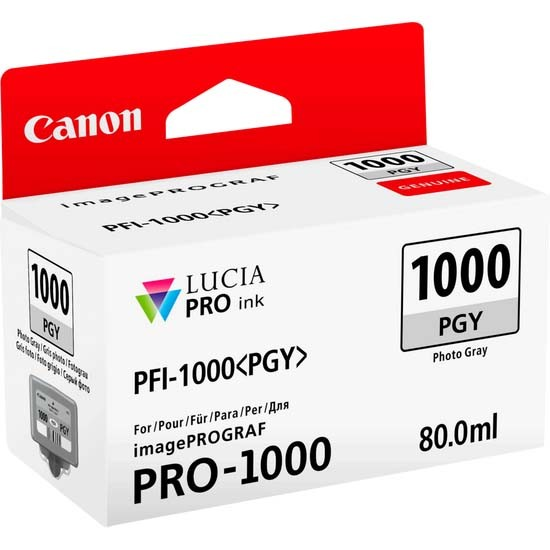 Canon PFI-1000PGY Photo Grey Ink Cartridge