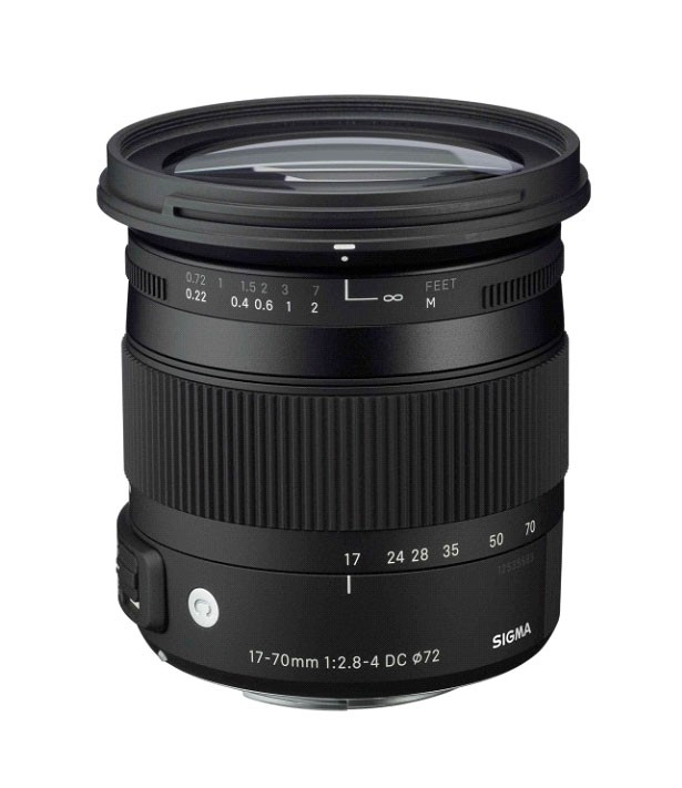 "Sigma DC 17-70mm F2.8-4 OS HSM ""C"" Series Lens - for Nikon F Mount"