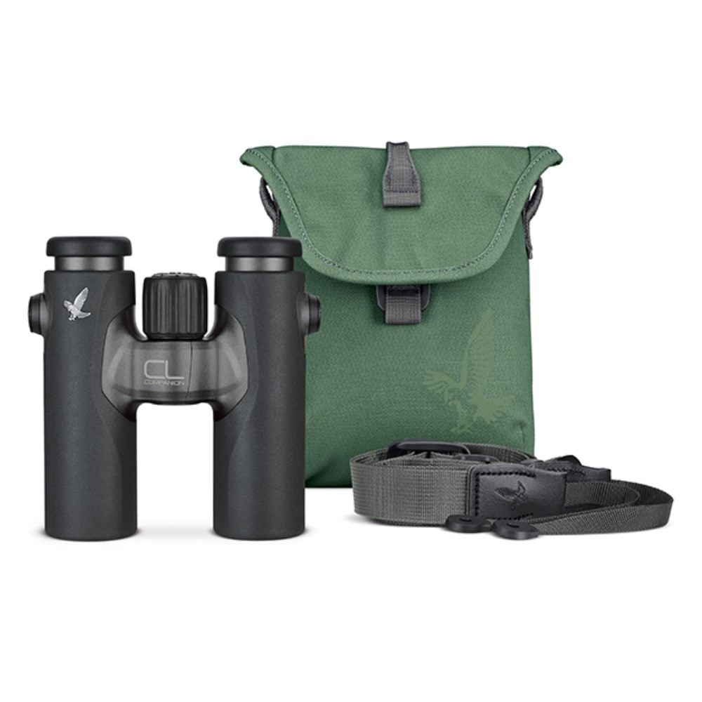 Swarovski CL Companion 10x30 Binocular (Anthracite) & Urban Jungle Accessory Pack