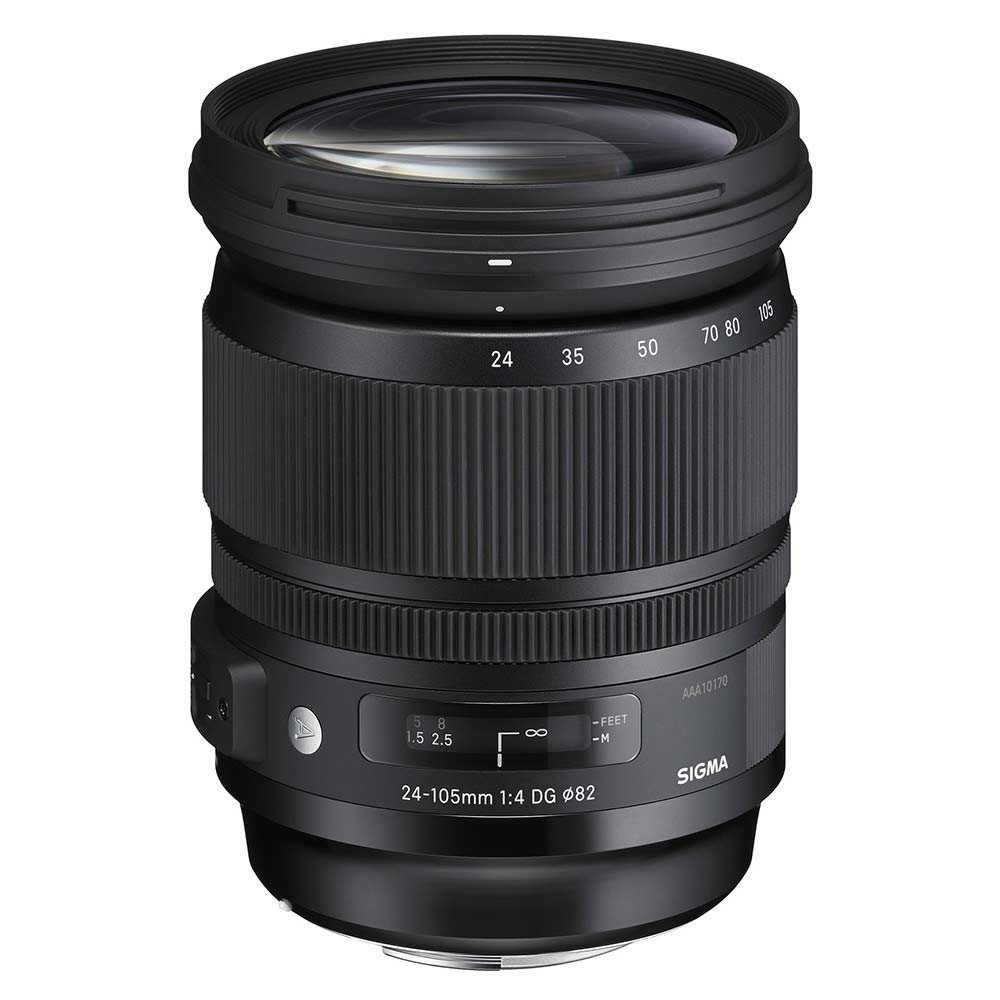 "Sigma 24-105mm f/4 OS HSM ""Art"" Series Lens - for Nikon F Mount"