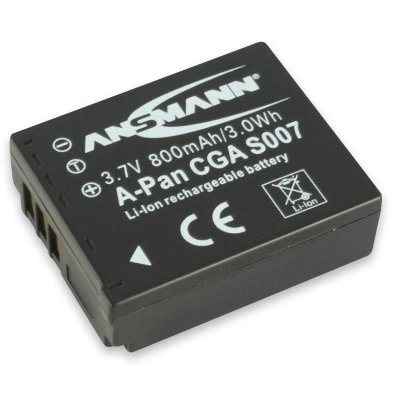 Ansmann A-Pan CGA S007 Battery Pack - for Panasonic