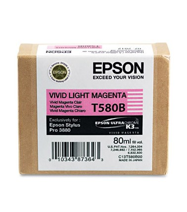 Epson Ink T580B00 Vivid Light Magenta