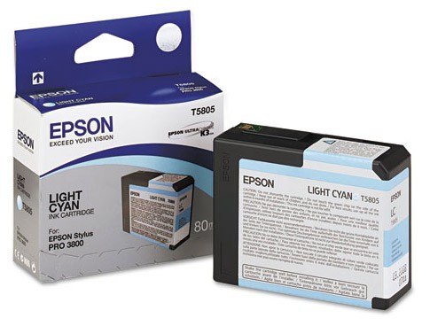 Epson Ink T580500 Light Cyan
