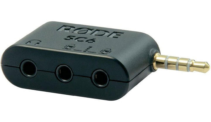 Rode Accessory SC6 Dual TRRS Input & Headphone Output