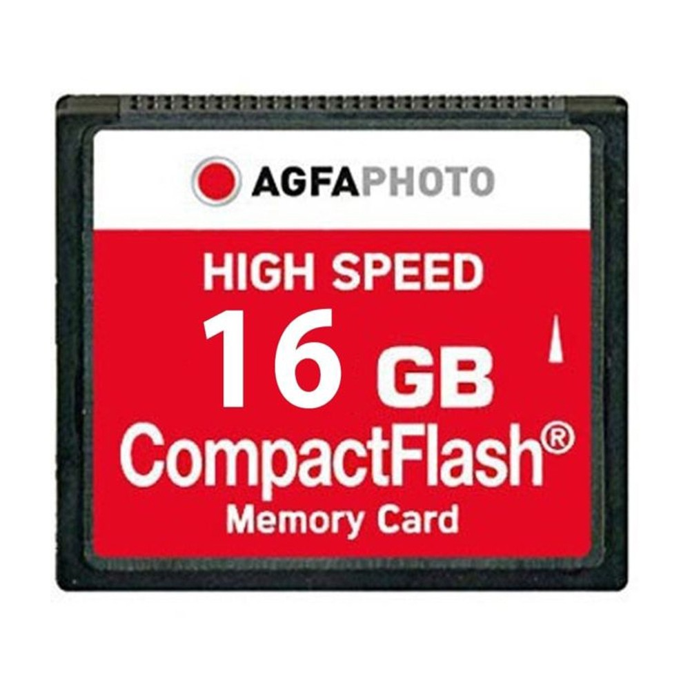 AgfaPhoto 16GB Compact Flash Memory Card