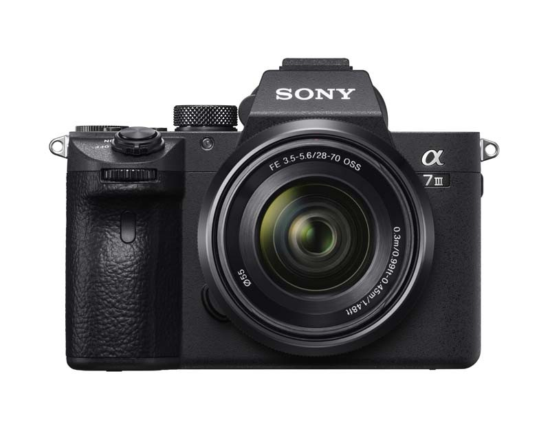 Sony A7 III & 28-70 front