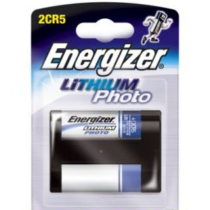 Energizer Battery Lithium 2CR5