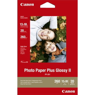 "Canon Paper PP-201 5x7"" 20 Sheets"