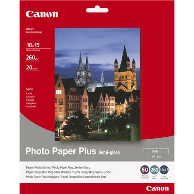 "Canon Paper SG-201 4X6"" 50 Sheets"