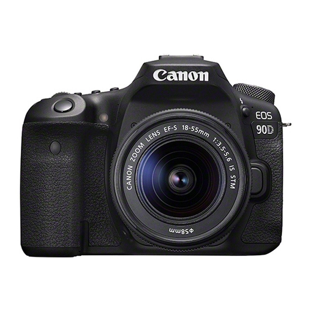 Canon EOS 90D & EF-S 18-55mm f/3.5-5.6 IS STM Lens