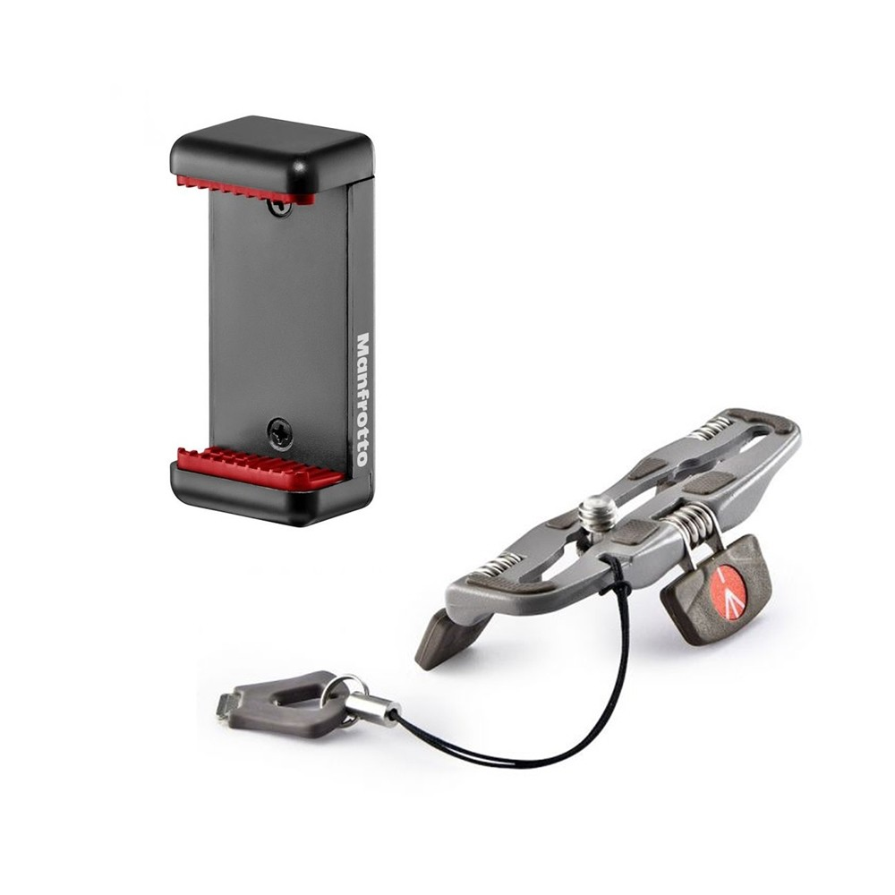 Manfrotto MCLAMP & Pocket Support Desktop Stand - Grey
