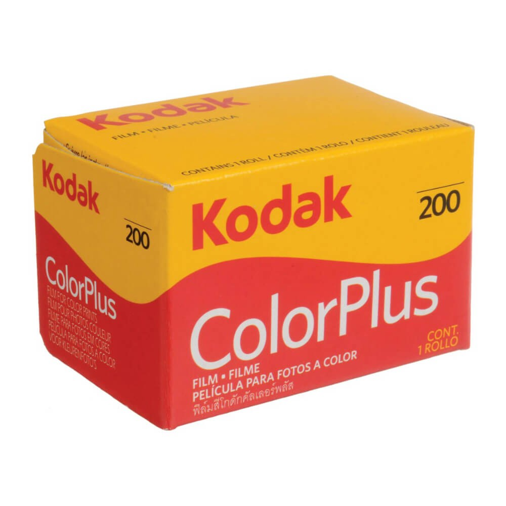 Kodak ColorPlus 200 36-Exposure 35mm Colour Negative Film (5 pack)