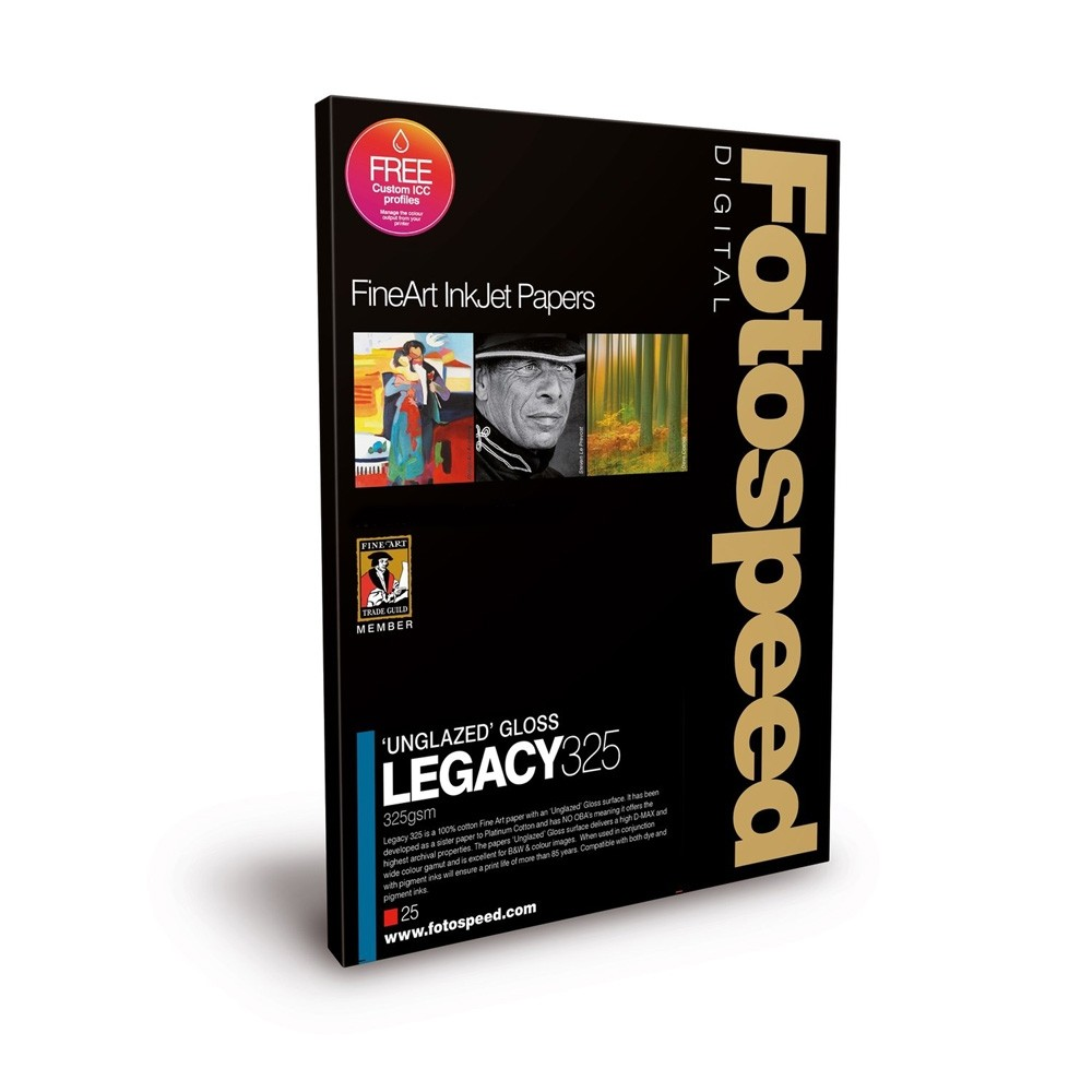 Fotospeed Legacy Gloss 325gsm A3+ 25 Sheets