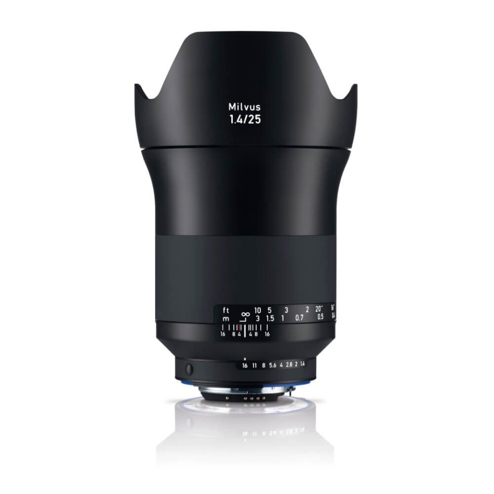 Zeiss Milvus 25mm f/1.4 ZF.2 Lens - for Nikon F Mount