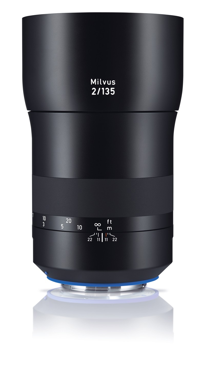 Zeiss Milvus 135mm f/2.0 ZE Lens - for Canon EF Mount