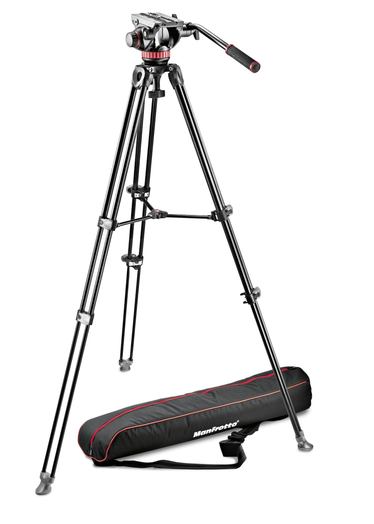 Manfrotto Professional Fluid Video System Tripod Kit MVK502AM