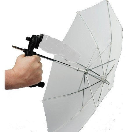 Lastolite Brolly Grip Kit With Translucent Umbrella 2126