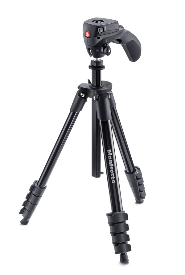 Manfrotto Compact Action Tripod Open