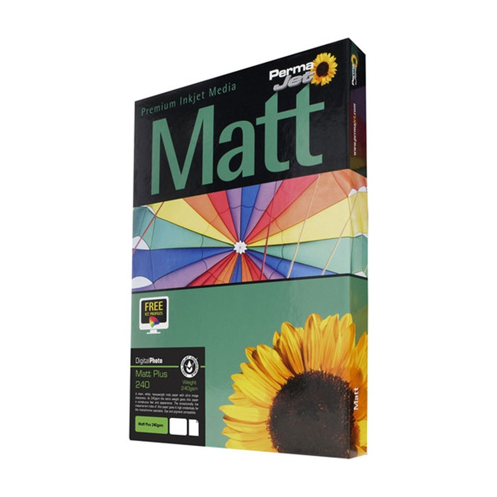 PermaJet MattPlus 240 Digital Photo Paper (A4, 50 Sheets)