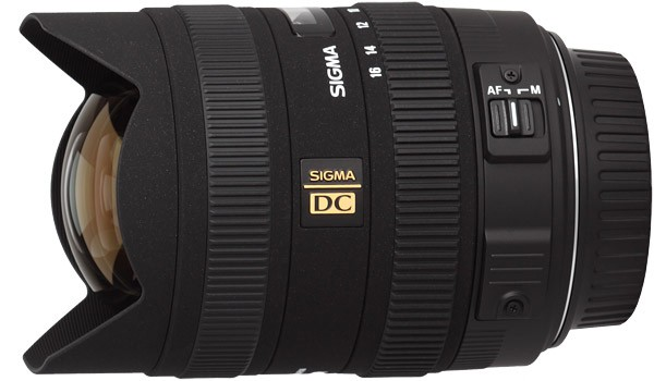 Sigma DC 8-16mm f/4.5-5.6 HSM Lens - for Canon EF Mount