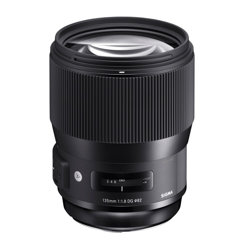 Sigma 135mm f/1.8 DG HSM Art Lens - for Nikon F Mount