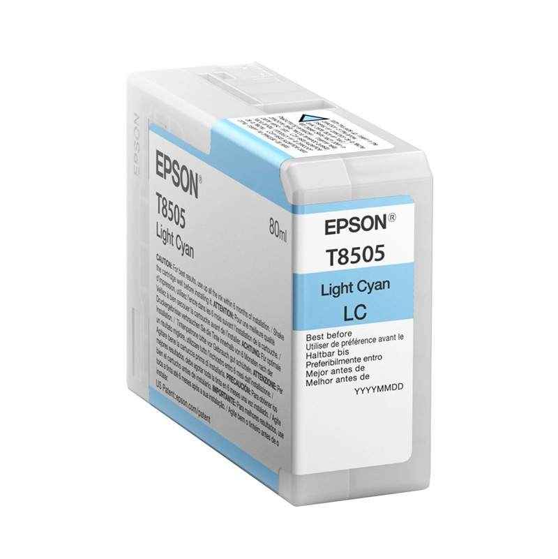 Epson T850500 Singlepack Ink Cartridge - Light Cyan