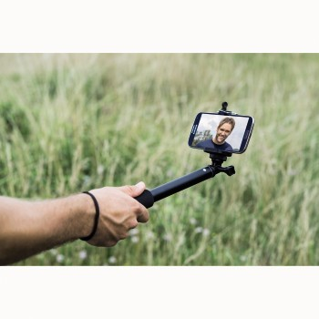 Hama Selfie Stick 90 with Smartphone Holder