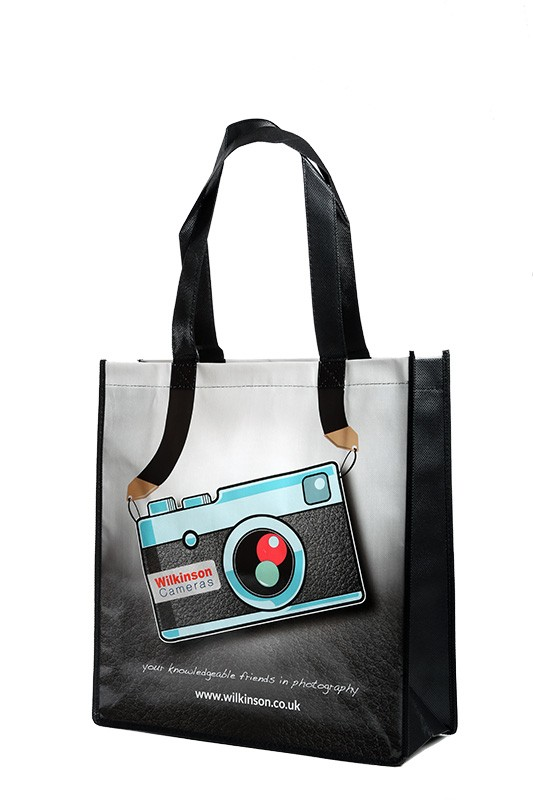 Wilkinson Cameras Re-usable Photo Tote Shopping Bag