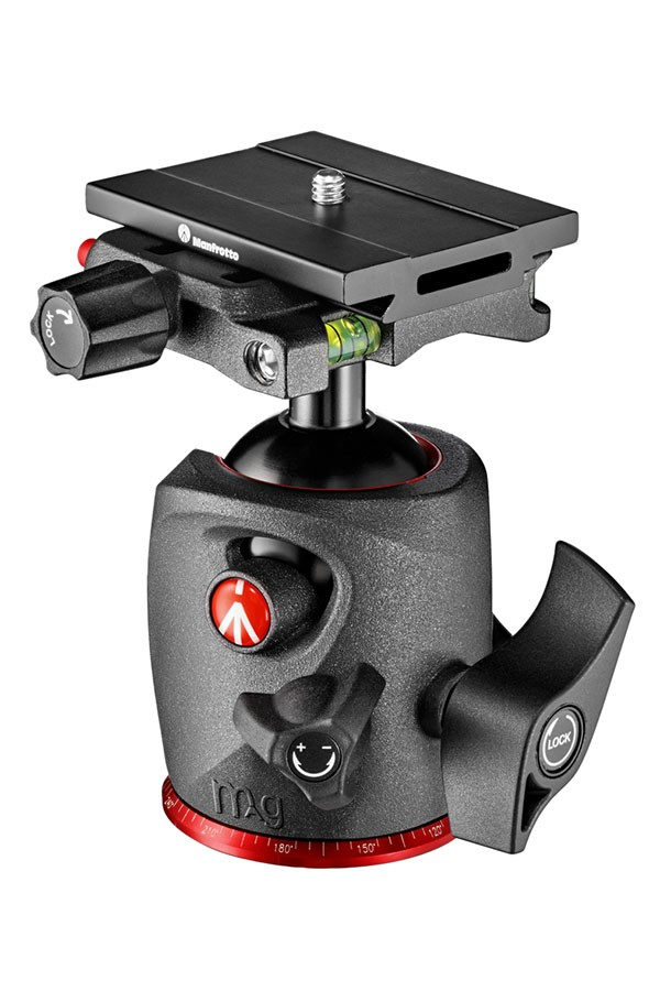 Manfrotto XPRO Ball Head in magnesium with Top Lock