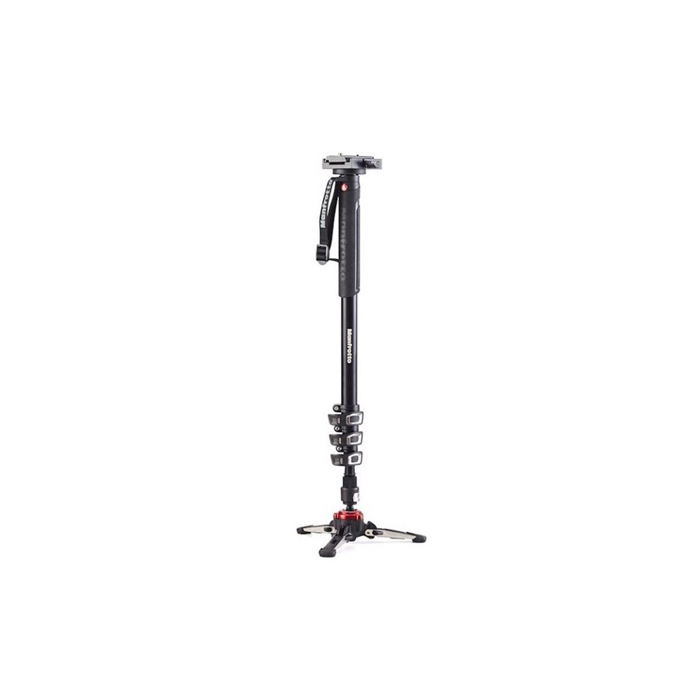 Manfrotto XPRO 4 Section Monopod & 577 Video Adapter