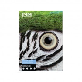 Epson Fine Art Cotton Smooth Natural A2 Paper - 25 Sheets