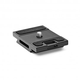 Gitzo Quick Release Plate Short D Profile with Rubber Grip