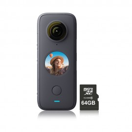 Insta360 One X2 & 64GB MicroSD Card Kit