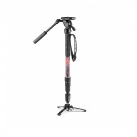 Manfrotto Element MII Video Monopod Kit with Fluid Head - Black
