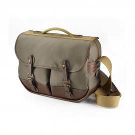 Billingham Eventer Camera Bag - Sage FibreNyte/Chocolate Leather