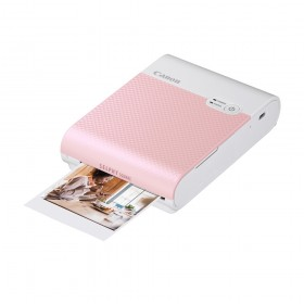 Canon Selphy Square QX10 Photo Printer - Pink