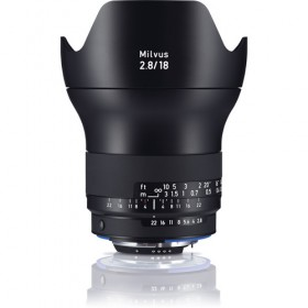 Zeiss Milvus 18mm f/2.8 ZF.2 Lens - for Nikon F Mount