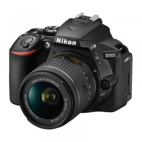 Nikon D5600 Digital SLR Camera & AF-P 18-55mm VR Lens