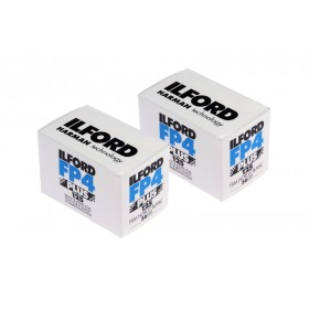 Ilford FP4 Plus 35mm 24-Exposure Black & White Film - Twin Pack